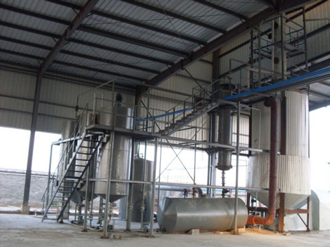 Quality batching pyrolysis plant