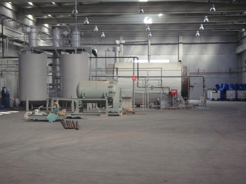 Kingtiger batching tire pyrolysis plant for sale