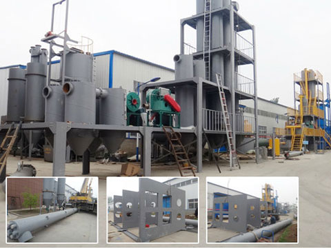 Straw, ride husk carbonization plant from Kingtiger