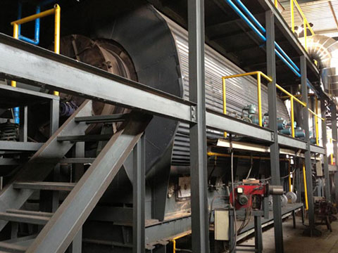 Continuous Pyrolysis Equipment For Medical WasteDisposal