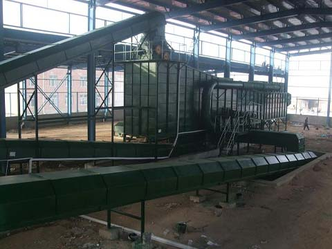Mixed Municipal Solid Waste Sorting Plant