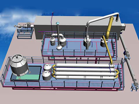 Pyrolysis Plant For Environmental