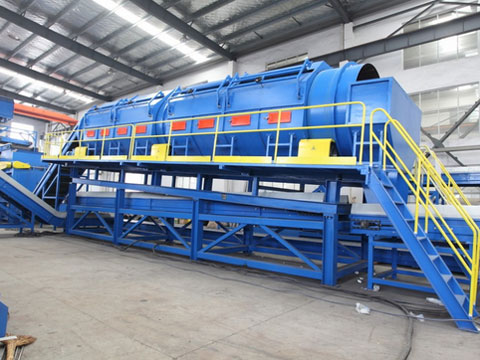 Kingtiger municipal solid waste recycling plants for separation