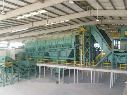 Kingtiger Sorting Plant For Municipal Solid Waste Disposal