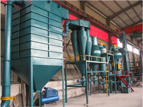 Kingtiger Carbon Black Processing Plant With Model QCJ-10