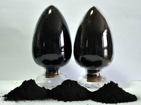 Carbon Black Drawing By The Processing Plant