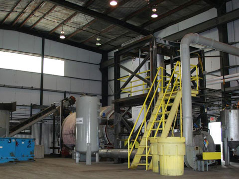 Quality recycling equipment for medical waste