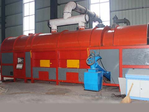 high quality Sewage Sludge Carbonization Plant for sale