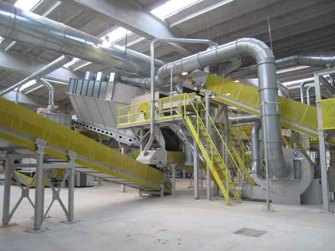 Waste Paper Sorting Plant: