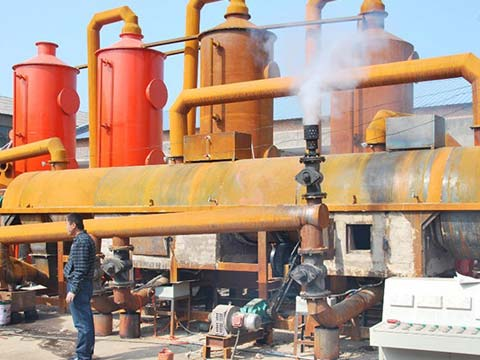 Kingtiger Sewage Sludge Carbonization Plant in China
