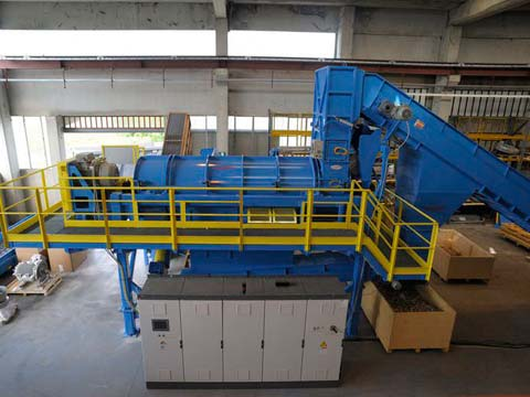 cost of plastic recycling plant