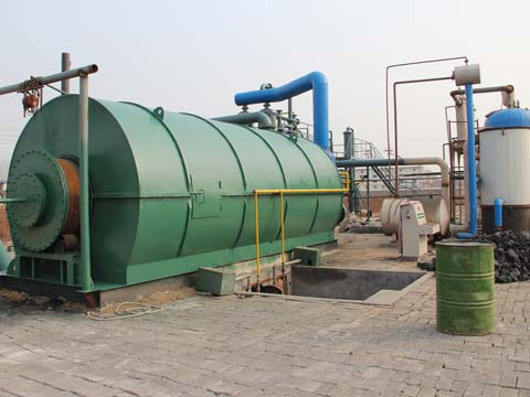 buy waste rubber to oil machine in China cheap