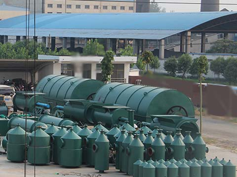 purchase best sell waste rubber to oil machine