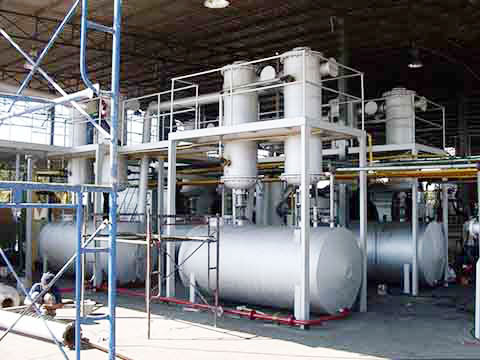 Continuous tyre pyrolysis plant from Kingtiger