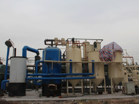 Used engine oil recycling machine cost