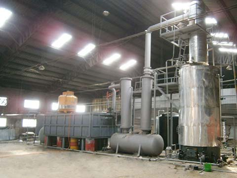 Motor oil recycle machine