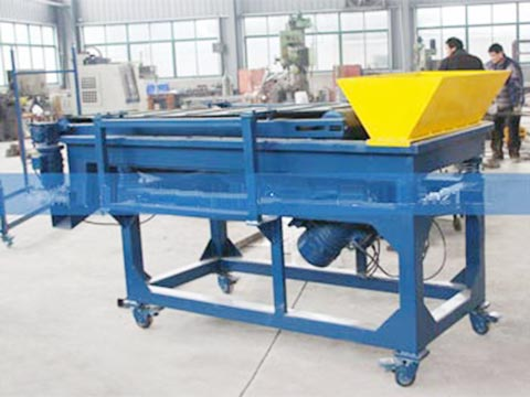 Rubber powder magnetic separtor