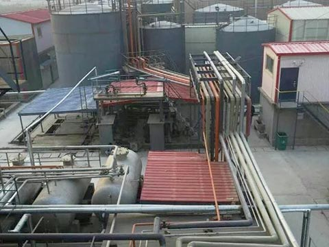 Waste motor oil recycling in China