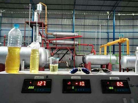 hydraulic oil recycling