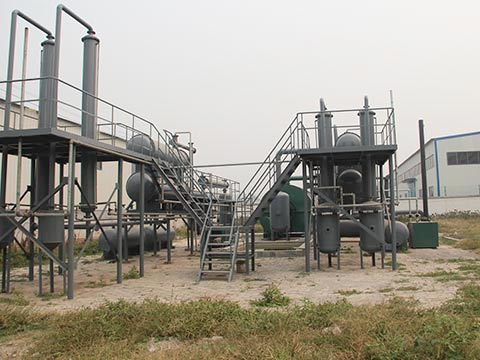 Municipal Solid Waste Pyrolysis Plant