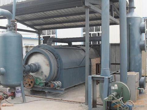 Waste tyre oil extraction machine price