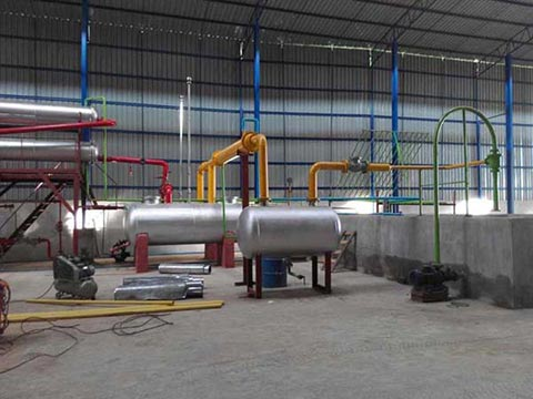Waste Used Oil Recycling Plant For Sale Supplier Kingtiger Gt