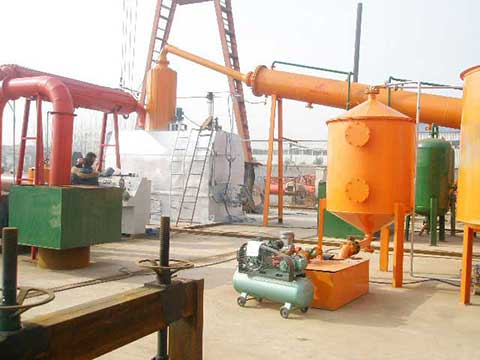 Waste to oil plant cost in China