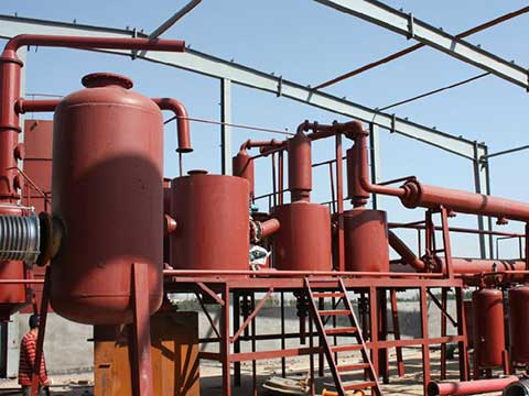 Pyrolysis oil plant price in China