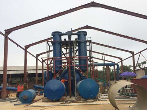 Furnace oil from plastic waste