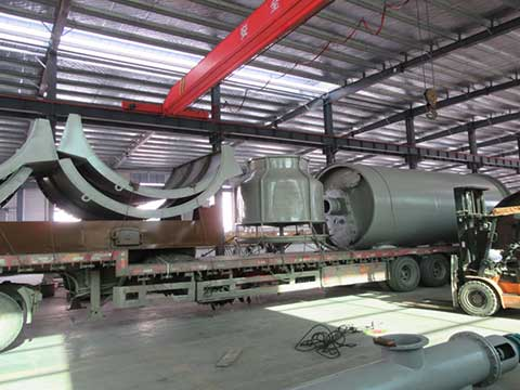 pyrolysis machine in China
