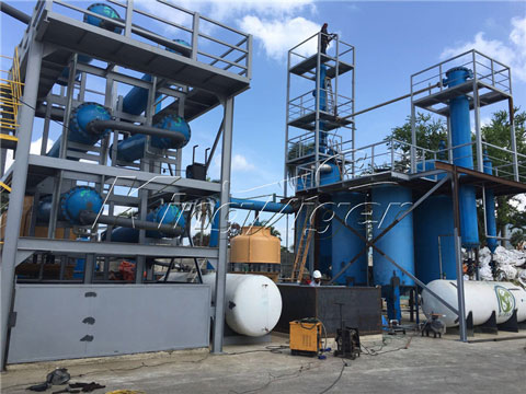 Waste Plastic to Diesel Plant for Sale - Automatic Production lIne
