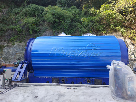 waste plastic2oil plant for sale Korea