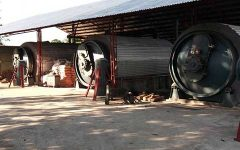 Tyre to oil pyrolysis