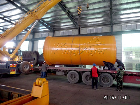 Bacth Waste Tyre Pyrolysis Plant for Sale