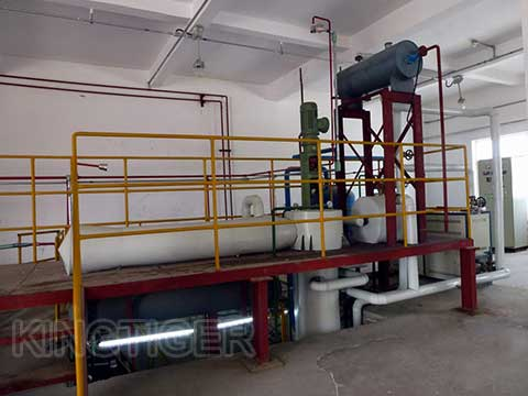 Used oil refinery machine
