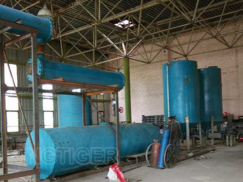Waste oil refinery plant buy