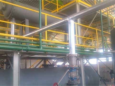 Cheap plastic recycling plant