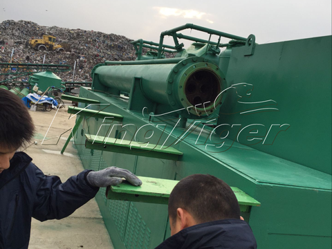 tire recycling machine cost