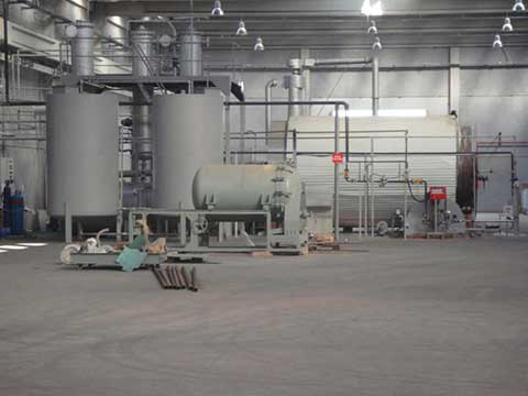 Pyrolysis machine price