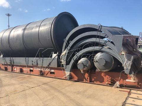 waste tyre recycling plant project cost