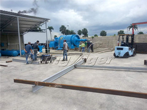 Batch Waste Plastic Recycling Plant Price