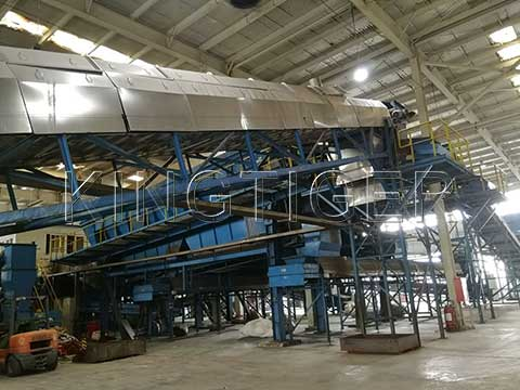 Waste sorting machine manufacturer