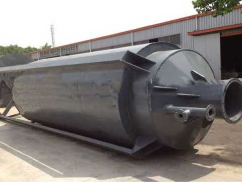 Waste lubricant oil recycling machine