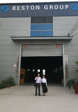 Customers in Factory
