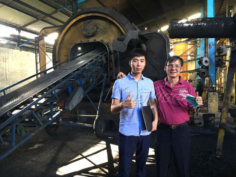 KingTiger Pyrolysis Plant Received Good Feedback from Indonesia Customers