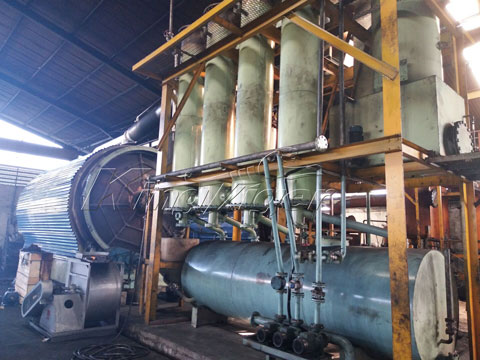 Kingtiger Pyrolysis Plant in Indonesia