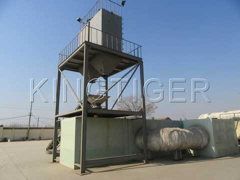 Plastic recycling plant manufactures