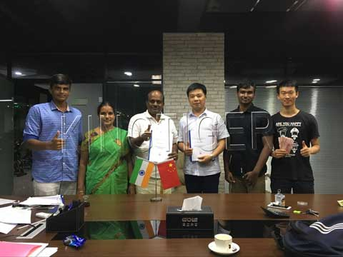 Plastic pyrolysis plant sold to india
