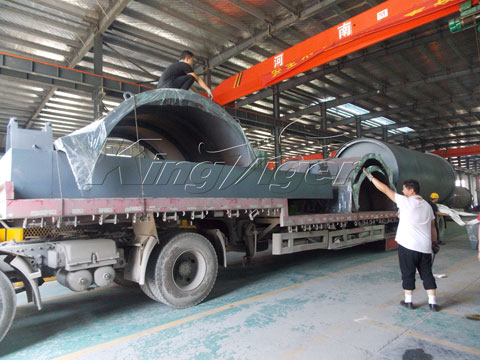 Kingtiger BLJ-10 Waste Pyrolysis Plant Shipped to South Africa