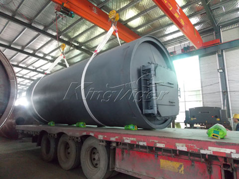 Kingtiger BLJ-10 Waste Pyrolysis Plant